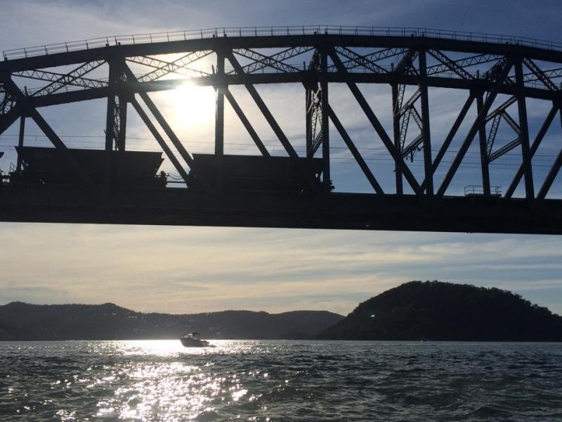 Bridge silhouette 1
