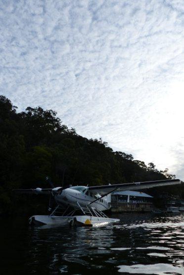 Seaplane in Berowra Creek